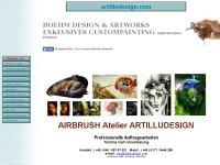 AIRBRUSH Atelier ARTILLUDESIGN